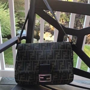FENDI FLAP OVER SHOULDER BAG